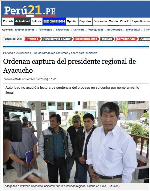 Fuente: Perú21